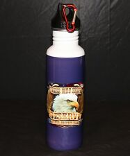 Military Those Who Serve 22oz Stainless Steel Bike Water Bottle BPA Free Sports