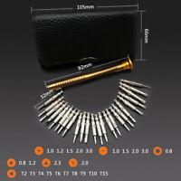 25PC Small Mini Precision Screwdriver Set Watch Jewelry Electronic Repair Tool