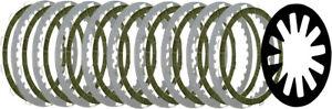 Belt Drives High-Performance Extra Clutch Plate Kit For 98-15 Big Twins BTXP-14