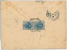 ITALIA REGNO:  storia postale - BUSTA per LISBOA PORTOGALLO Purtugal 1897