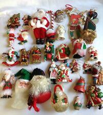30 Classic Santa Claus Christmas Ornaments - All Santa