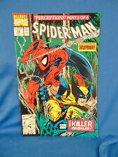 spider-man #12 comic book Perceptions part 5 superhero Wolverine art Mcfarlane