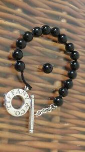 Tiffany & Co Black Onyx Toggle Bracelet (Damaged)