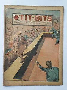 AGAINST THE LIZARD BAND! - TIT-BITS #1840 (1944) - COMIC IN SPANISH - ARGENTINA