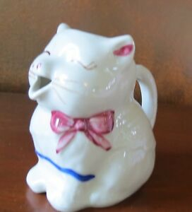 Shawnee Pottery Puss n' Boots Vintage Cream Pitcher
