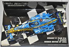 Renault R26 2006 WELTMEISTER Fernando ALONSO Sieger England GP 1:43 Minichamps