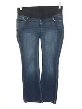 Old Navy Maternity Low Rise Knit Panel Boot Cut Stretch Jeans Womens 1 Short 1S