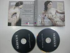 CECILIA BARTOLI 2CD + BOOK SACRIFICIUM 2009 THE AGE OF THE CASTRATO DELUXE