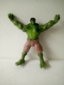 """Marvel 6"""" Action Figure 2007 The Incredible HULK Light Up Chest Figure"""