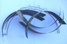 Curtis Jere 1981 Vintage Abstract Metal Sculpture - Rare!