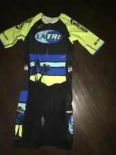 Men's Cycling Skinsuit Speedsuit Large L Los Angeles LA Triathlon Club New