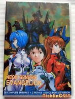 Neon Genesis Evangelion Complete TV 1-26 + 2 Movie Collection New in USA English