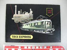 AN959-0,5# Trix Express H0/00 Catálogo Edición 1957