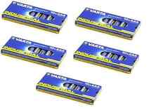 50 batterie pile ministilo AAA alkaline industriali VARTA altissima qualità