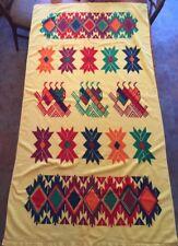 Native Aztec Pattern Beach Towel Extra Large Bath Sheet Vintage Super Soft