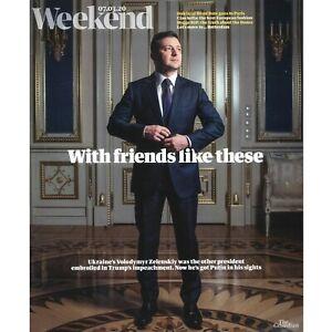 Weekend Magazine: Volodymyr Zelenskiy, Sofie Hagen, Tim Dowling 07.03.20