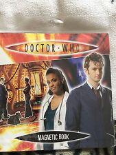 Doctor Who 10th Dottore Tardis console stanza LIBRO MAGNETICO con Dr Who Magnetics