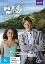Death In Paradise : Series 5 (DVD, 3-Disc Set) R-4, NEW, FREE POST IN AUSTRALIA