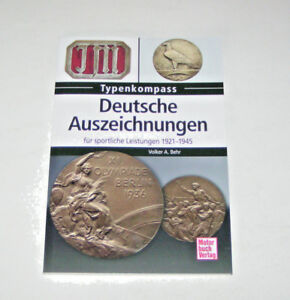 Deutsche Auszeichnungen für sportliche Leistungen - 1921 bis 1945 - Typenkompass