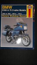 BMW K100 and K75 1983-93 Owner´s Workshop Handbuch