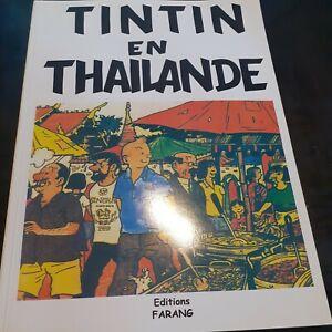 TINTIN EN THAILANDE  (PASTICHE)EDITIONS FARANG
