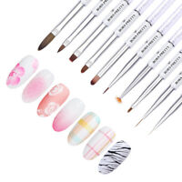 BORN PRETTY Gel Nail Brush Pro Design Liner Art Pens Painting Drawing Nail Tools