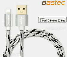 Genuine 1.5M Bastec USB Charger Cable For iPhone Xs XR X 8 7 6S 6 Plus 5S iPad