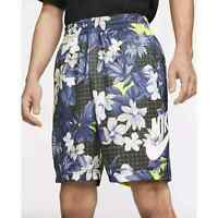 Nike SB Sunday Skate Shorts Skateboard Floral Black Blue CI7343-010 Men's NWT
