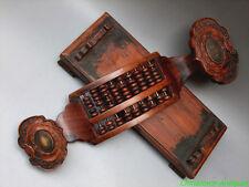 Ruyi scepter mini Abacus Thai Rosewood payung 9 Column 63 Count beads 如意算盤#2890