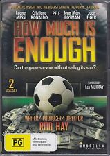 HOW MUCH IS ENOUGH  - CRISTIANO RONALDO - PELE (Region 0 = All regions) NEW