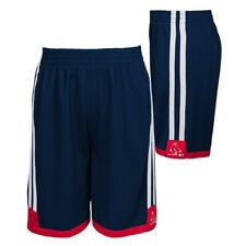 Boston Red Sox MLB Youth Boys' Striped Team Logo Shorts: 8-20