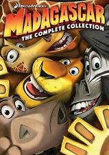 Madagascar Trilogy 1, 2 & 3 The Complete Collection DVD R4 New & Sealed