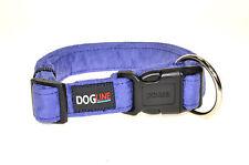 Dogline Comfort Microfiber Soft Padded Pet Puppy Dog Collar Nylon Reinforecement