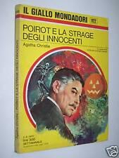 IL GIALLO MONDADORI 1122-AGATHA CHRISTIE-POIROT E LA STRAGE DEGLI INNOCENTI 1970