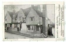 More details for pub advert postcard the boar's head hotel bishops stortford herts vintage c.1910
