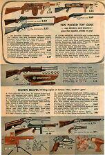 1953 ADVERT Toy Cap Guns Rex Mars Space Machine Atomic Disintegration Browning