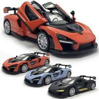 1:32 McLaren Senna V8 Supercar Model Car Diecast Toy Vehicle Sound Light Kids