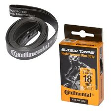 Continental 700x18 Easy Tape Bicycle Rim Strips-Pair-Black-Tire Tape-New