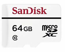 SanDisk High Endurance Video Monitoring  64GB Micro SD SDXC Card