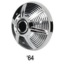 Pedal Car Parts, 1966 AMF Mustang Chromed Plastic Hubcap