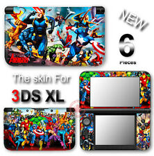 Iron Man Spider Man Captain America Avengers SKIN STICKER DECAL COVER for 3DS XL
