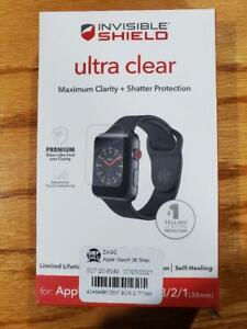 ZAGG InvisibleShield Ultra Clear Screen Protector for Apple Watch 3/2/1 (38mm)