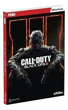 Call of Duty: Black Ops III Official Strategy Guide by Prima Games : WH4 - PB376