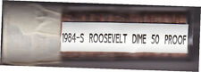 50 ROOSEVELT PROOF DIMES 1984-S  Complete Roll of 50