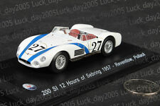 Maserati 200 SI 12h Sebring 1957 #27 Reventlow, Pollack 1/43 Diecast Model