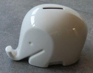 Colani Design Spardose Elefant Drumbo Porzellan, 16x12x9 cm