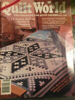Quilter's World - May 1988 -16 Great Blocks, Quilts & Projects