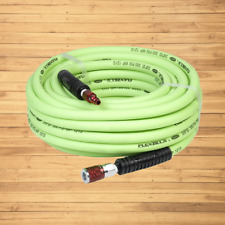 Flexzilla Air Hose With Colorconnex Industrial Type D Coupler And Plug 38 In