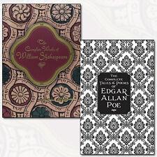 Complete Tales & Poems of Edgar Allan Poems, Knickerbocker Classics 2 Books Set