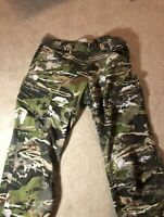 Under Armour Storm Field Ops Hunting Pants Forest Camo Size 42x30 UA1313212-940